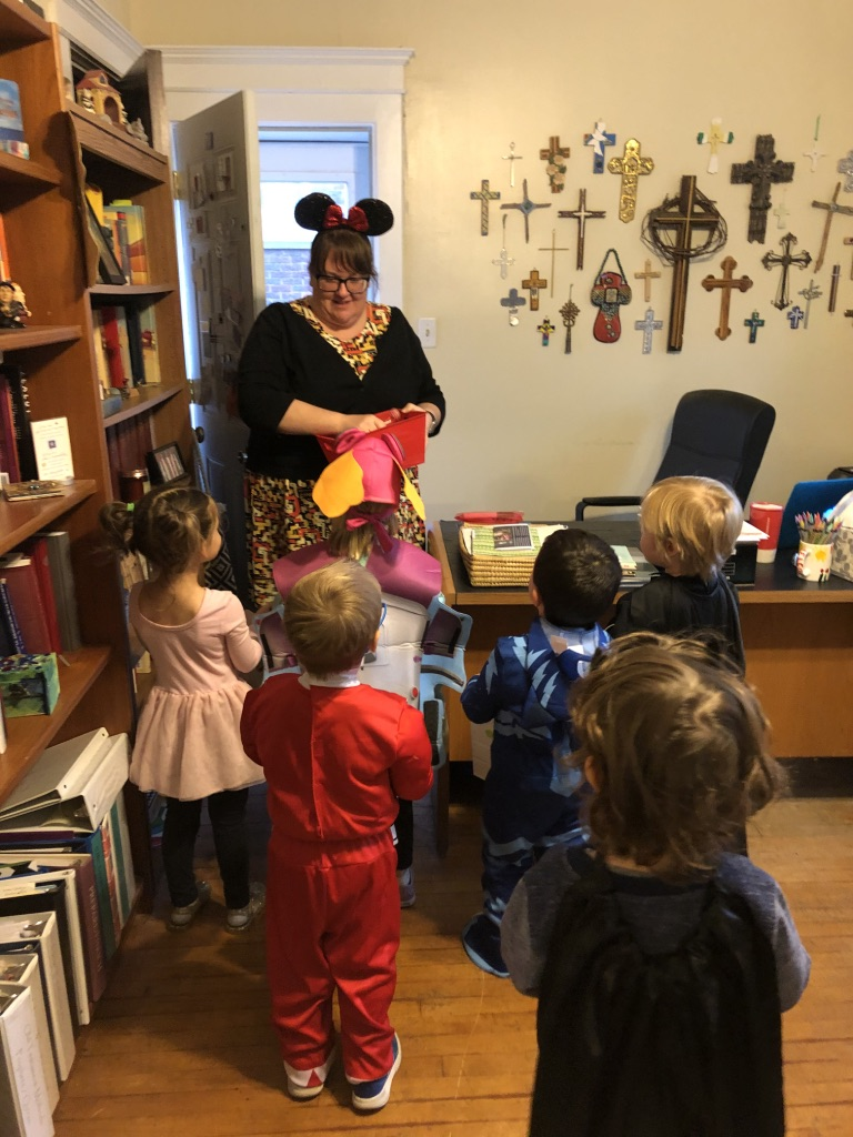 Trick-or-Treating in the Office