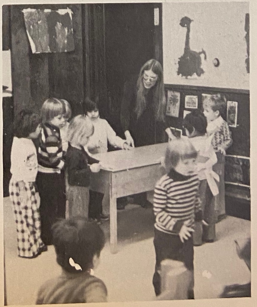 Sensory Table in the 1970's